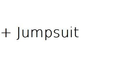 + Jumpsuit