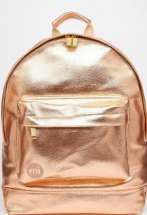 Kupferfarbener Rucksack von Mi-Pack, gesehen bei asos.de